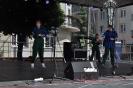 Młodzież grupy tańca współczesnego MDK na Włodawskim Pikniku Rodzinnym