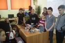 Pokazy z robotyki w Szkole Podstawowej nr 2 we Włodawie - prezntacja programu Lego Educations