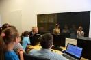 Warsztaty radiowo-informatyczne dla najmłodszych w GBP w Wyrykach