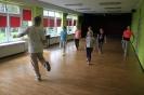 Warsztaty tańca współczesnego prowadzone przez Joannę Chudobę