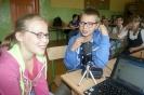 Zajęcia radiowo-informatyczne w Zespole Szkół w Wyrykach
